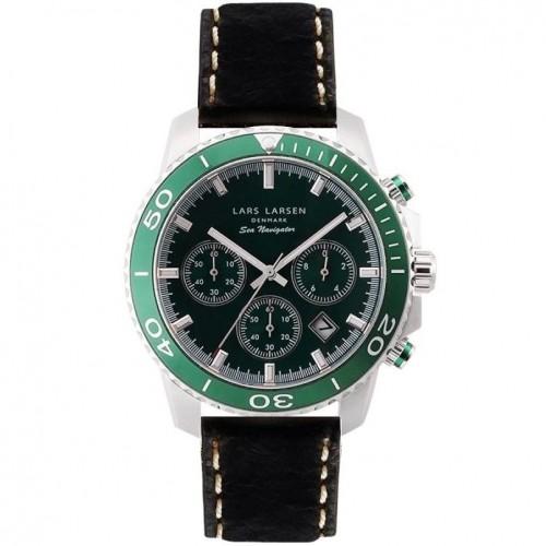 Zegarek Lars Larsen 134-Green/Black