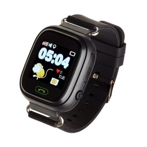 Smartwatch dziecięcy Garett Kids 2 czarny-5038272