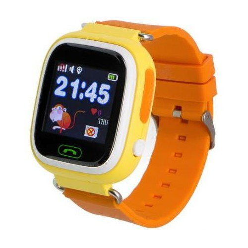 Smartwatch dziecięcy Garett Kids 2 pomarańczowy-5038239