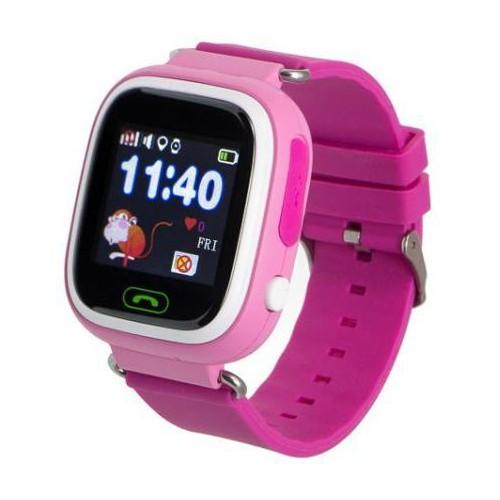 Smartwatch dziecięcy Garett Kids 2 różowy-5038303