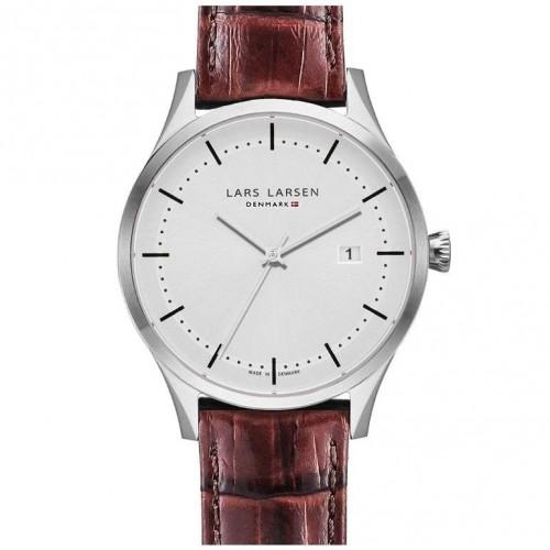 Zegarek Lars Larsen 119-Silver/Brown...